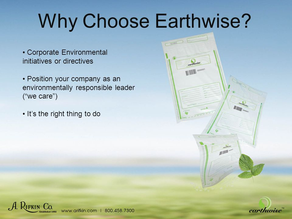 Why Choose Earthwise.