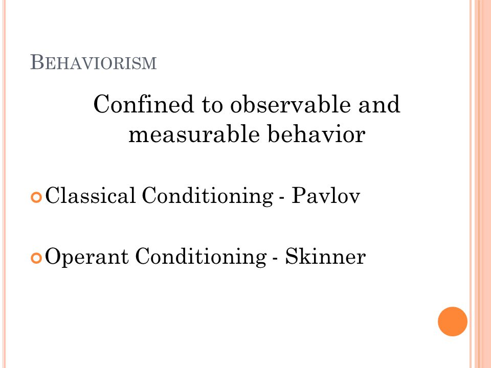 BEHAVIORISM learning occurs through with the environment Behaviorism is a school of thought in psychology that assumes that learning occurs through with the environment.