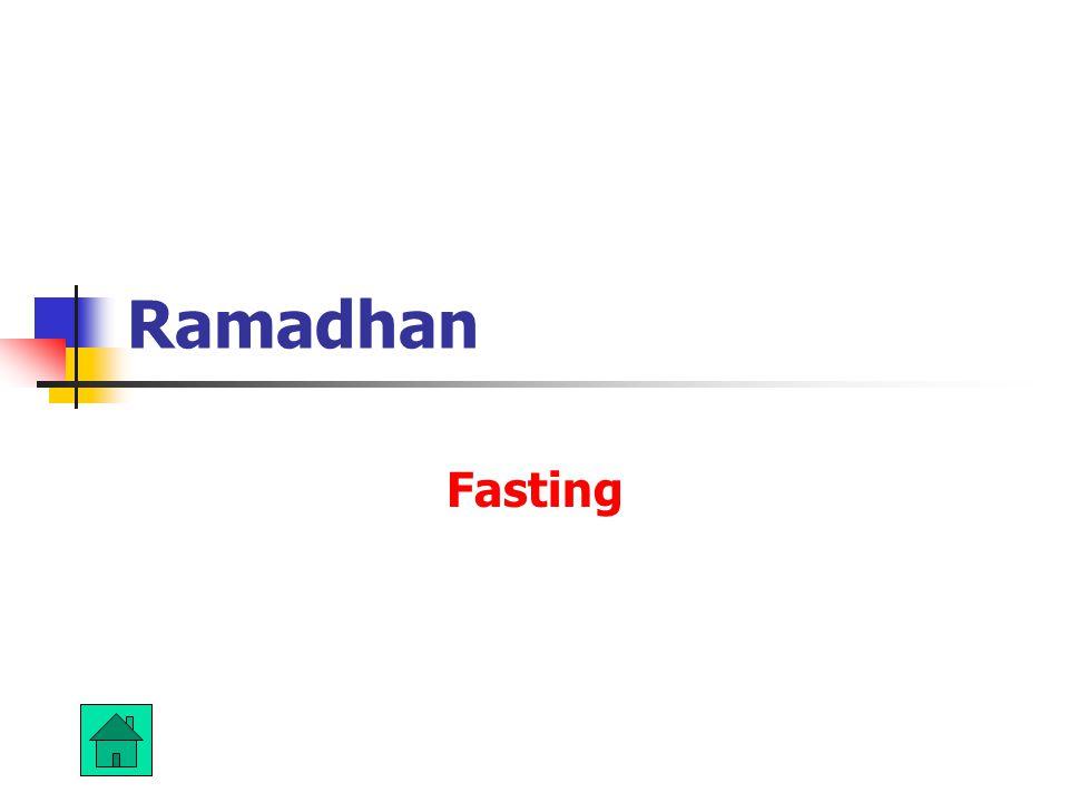 Ramadhan Fasting
