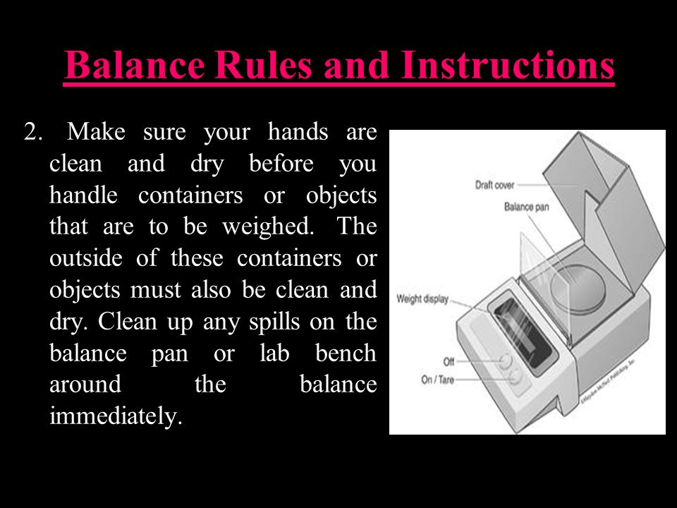 Balance Rules and Instructions 2.