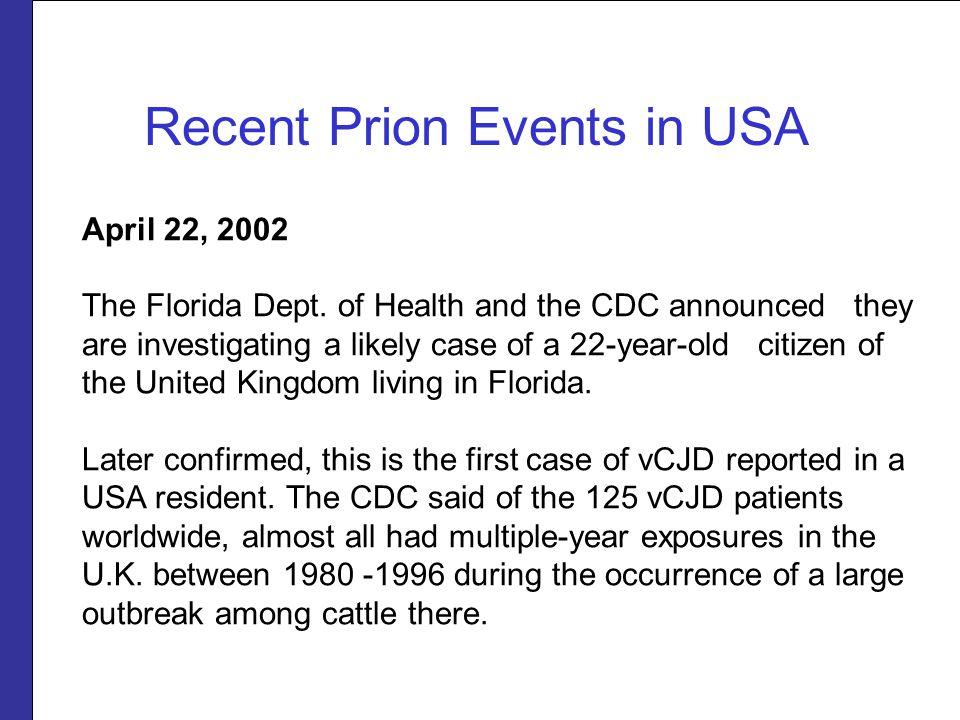 April 22, 2002 The Florida Dept.