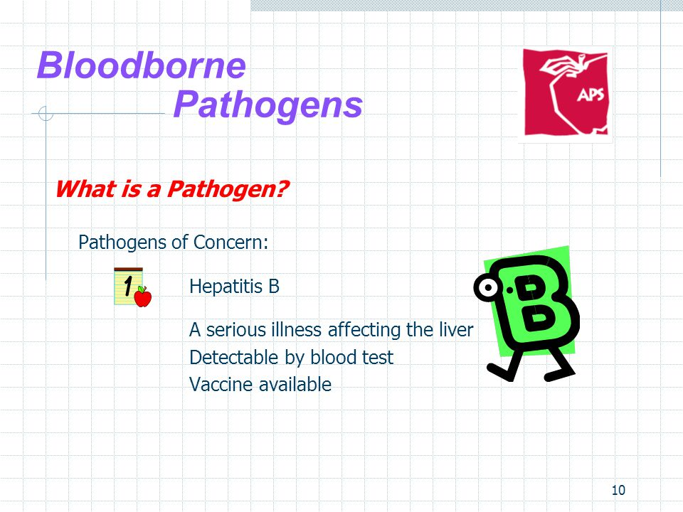 10 Bloodborne Pathogens What is a Pathogen.