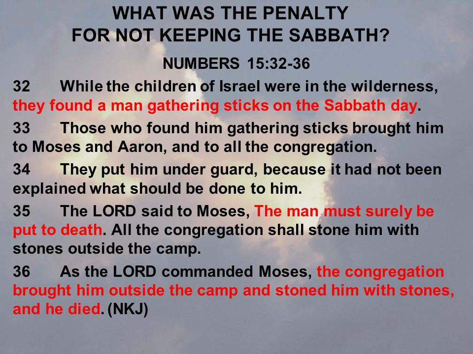 WHY DID JEUS HEAL ON THE SABBATH.