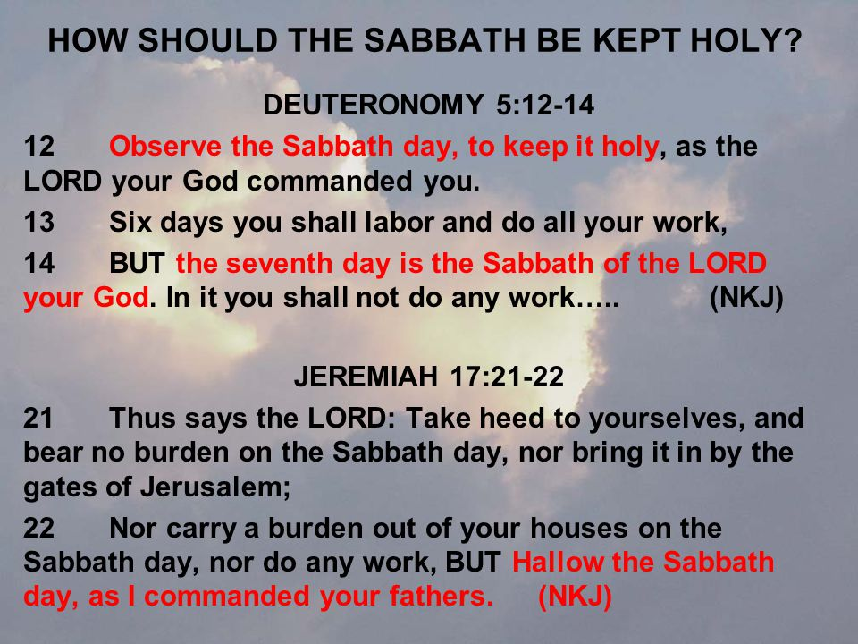 WHY DID JESUS HEAL ON THE SABBATH.LUKE 13:11-17 15Then the Lord said, Hypocrite.