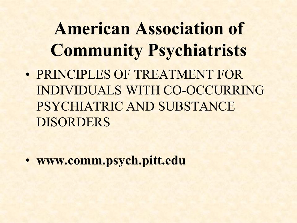 PSYCHOPHARMACOLOGY PRACTICE GUIDELINES II.