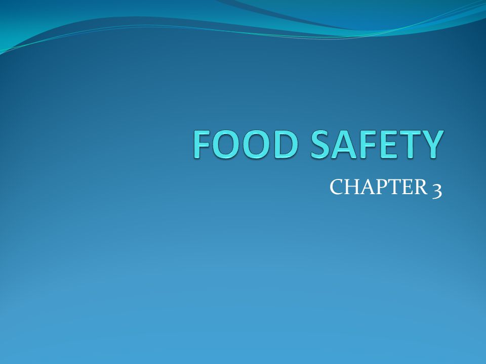 Objectives How food contamination occurs Why food contamination occurs Identify stages of food preparation where food spoilage occurs Describe and apply safe practices in stages of food preparation