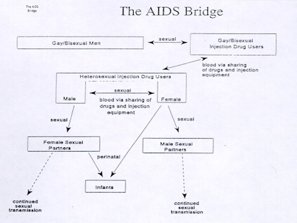Understanding changing epidemiologic patterns: unifying concepts and examples [7] PROPAGATED SPREAD AND CHANGING PATTERNS: HIV and THE AIDS BRIDGE