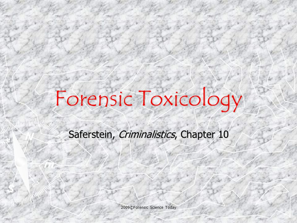 Pharmacology ► Toxicology is a branch of pharmacology.