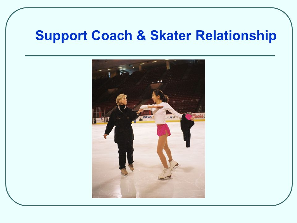 Support Coach & Skater Relationship