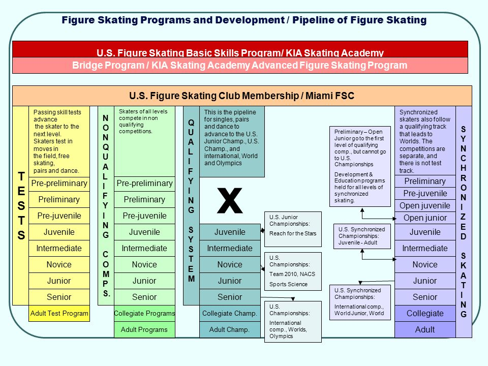 Figure Skating Programs and Development / Pipeline of Figure Skating U.S. Figure Skating Basic Skills Program/ KIA Skating Academy Bridge Program / KI