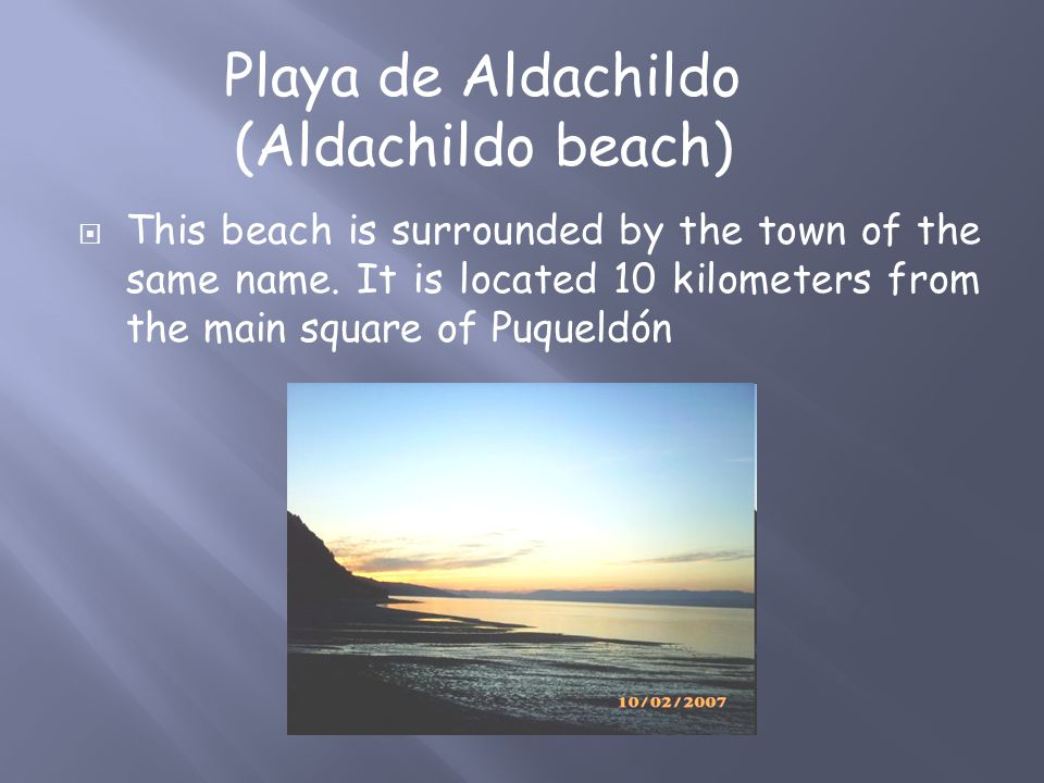  This beach is surrounded by the town of the same name.