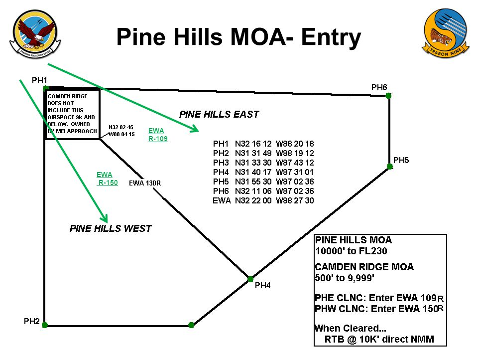 FAM-08 Pine Hills MOA- Entry EWA R-109 EWA R-150