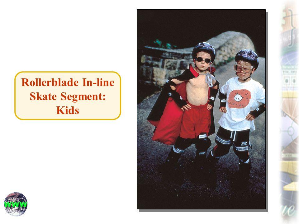 Rollerblade In-line Skate Segment: Kids