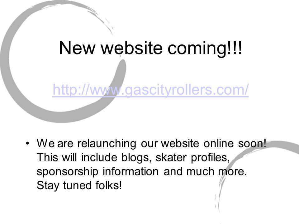 New website coming!!.