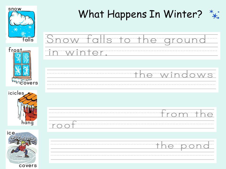 What Happens In Winter