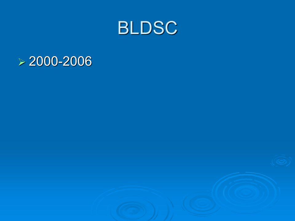 BLDSC  2000-2006