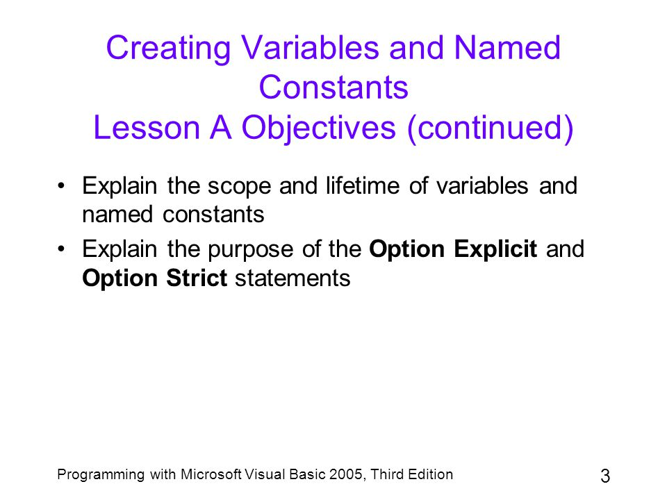 44 Programming with Microsoft Visual Basic 2005, Third Edition Modifying the Code in the MainForm's Load and xCalcButton Click Procedures (continued) Figure 3-51: Revised pseudocode for the Calculate Order button
