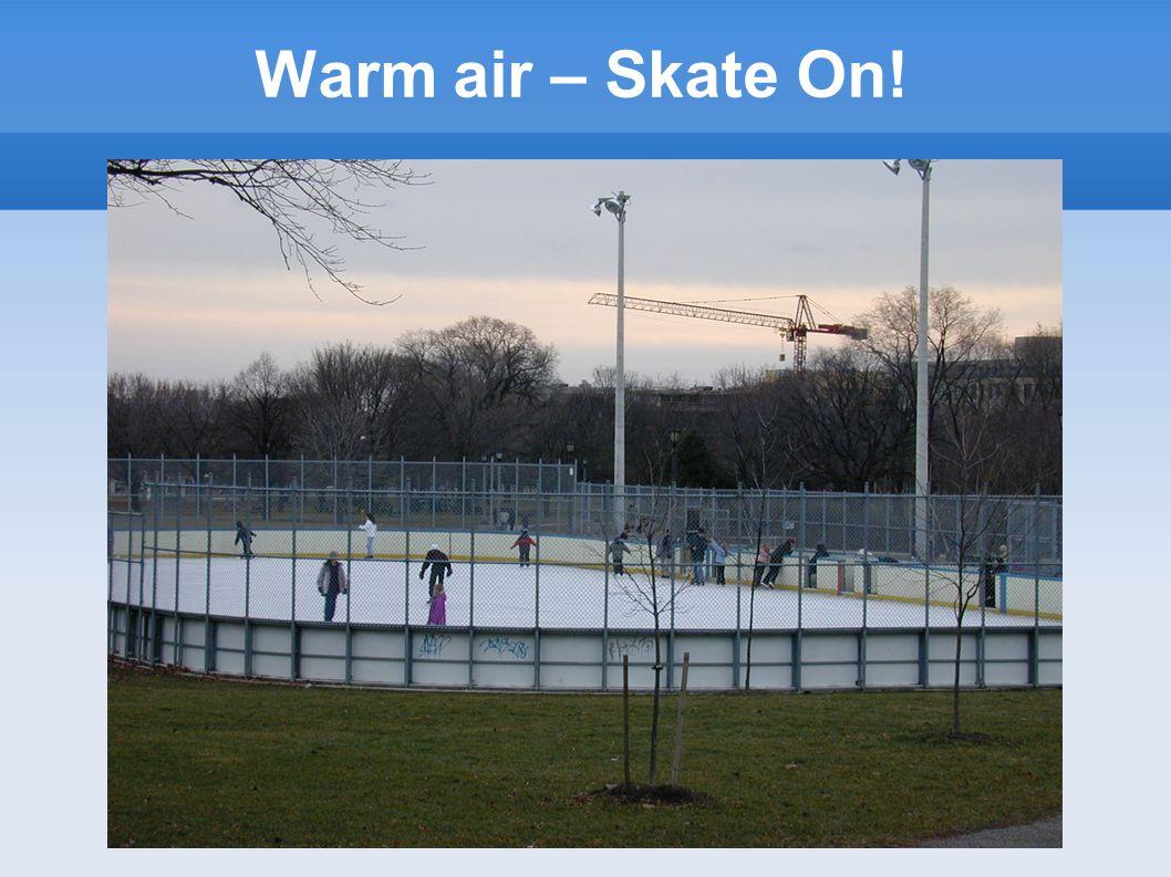 Warm air – Skate On!