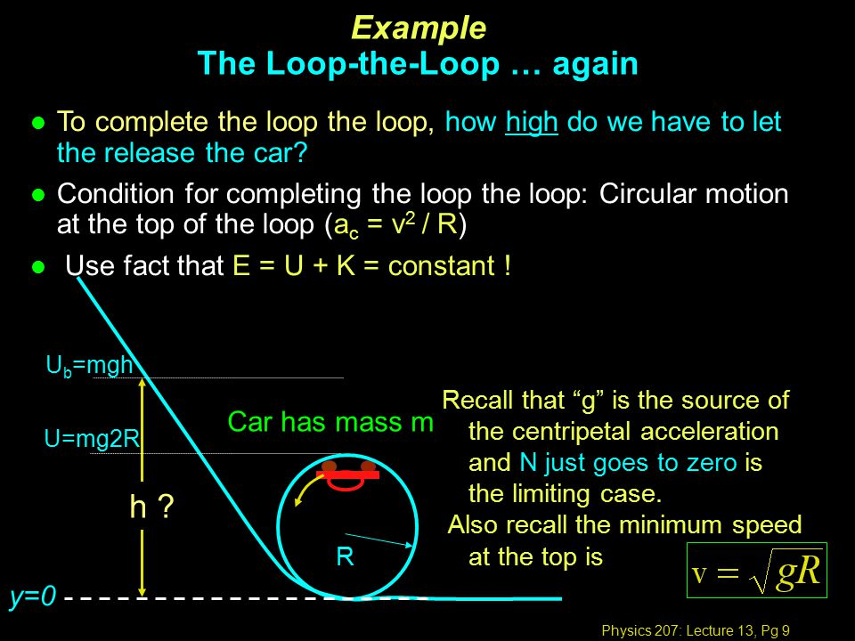 Physics 207: Lecture 13, Pg 20 Inelastic collision in 1-D: Example 1 What is the momentum of the bullet with speed v .