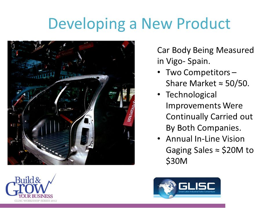 Developing a New Product Car Body Being Measured in Vigo- Spain.