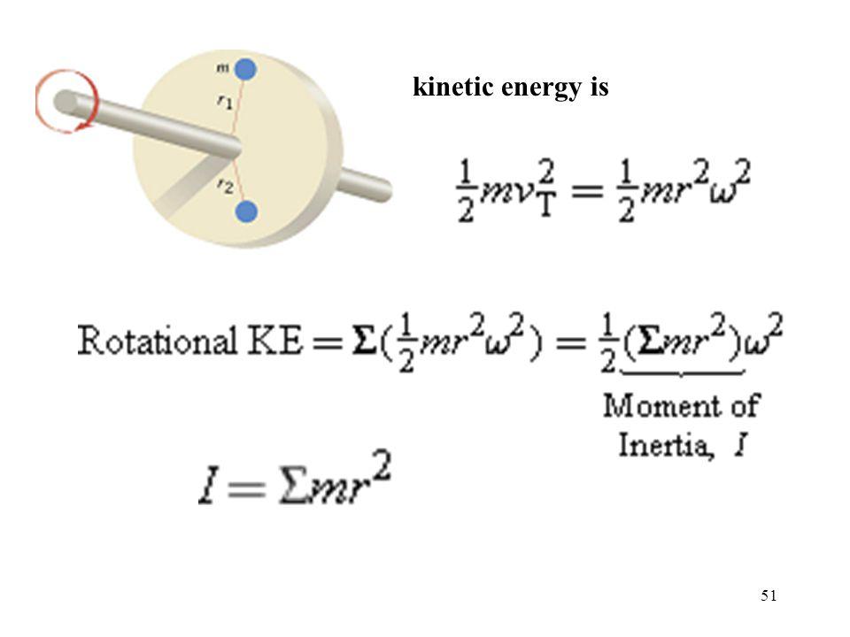 51 kinetic energy is