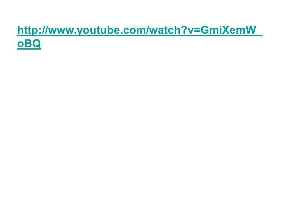 http://www.youtube.com/watch?v=GmiXemW_ oBQ