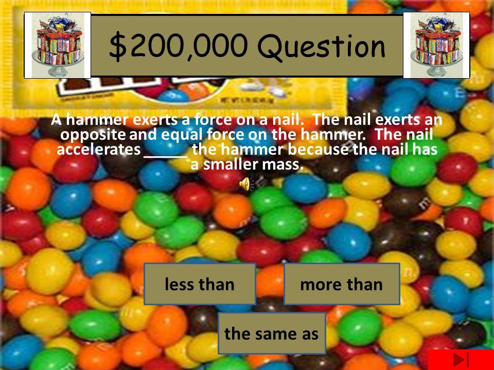 Yummy rewards for yummy answers! For $100,000
