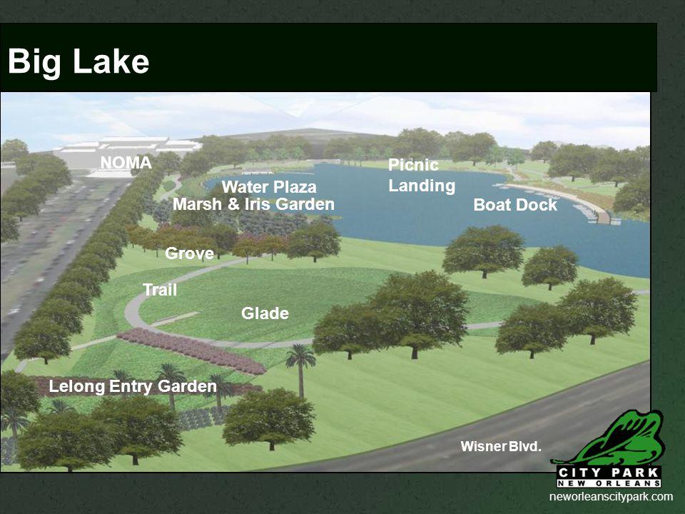 neworleanscitypark.com Glade Boat Dock Wisner Blvd.