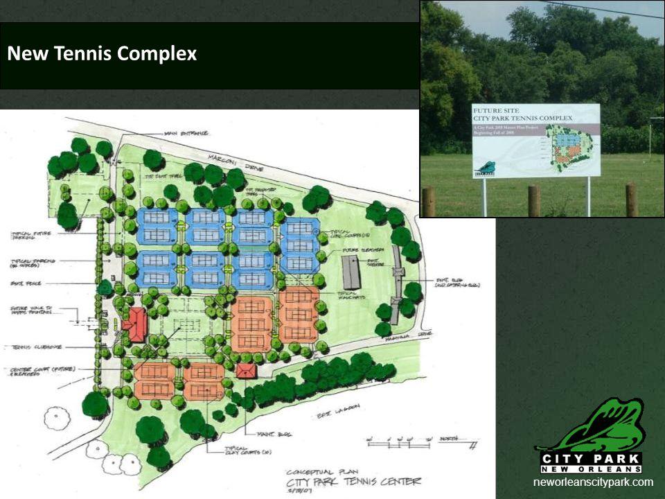 neworleanscitypark.com New Tennis Complex