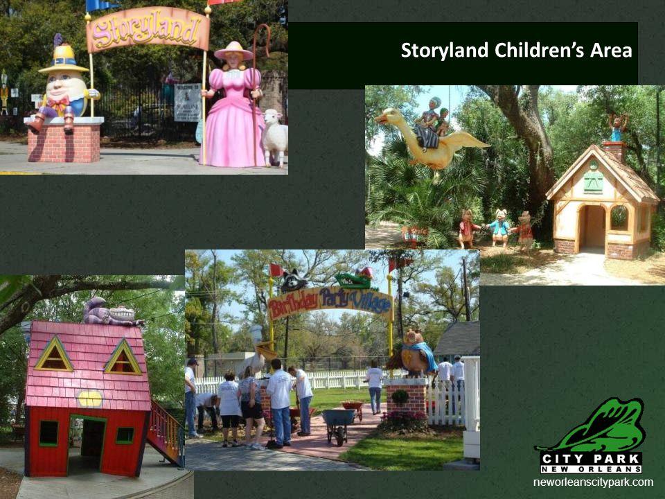 neworleanscitypark.com Storyland Children's Area