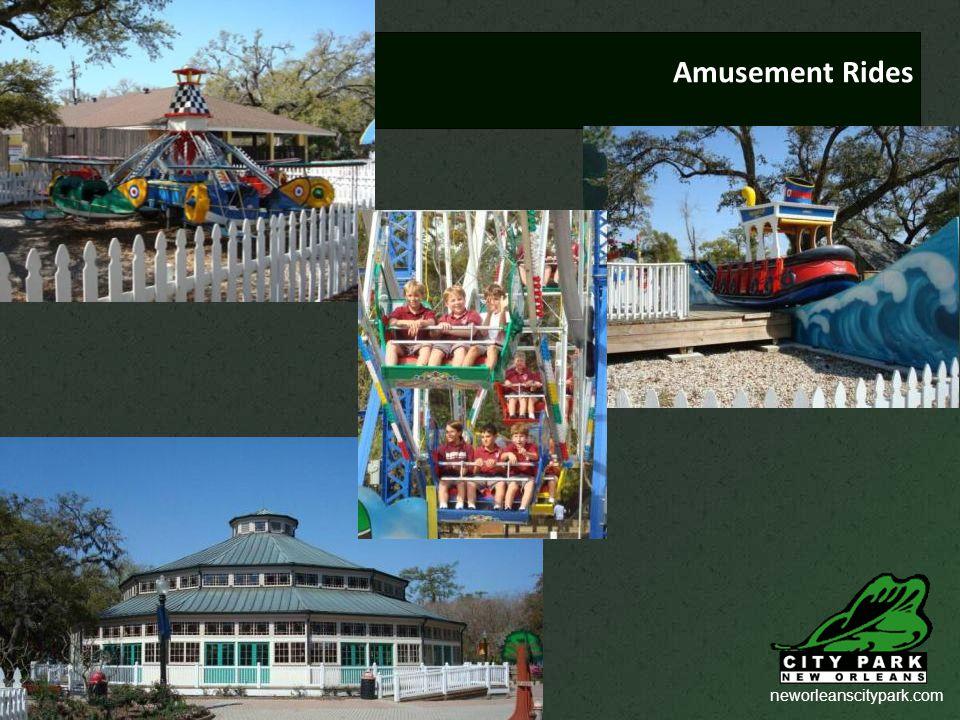 neworleanscitypark.com Amusement Rides