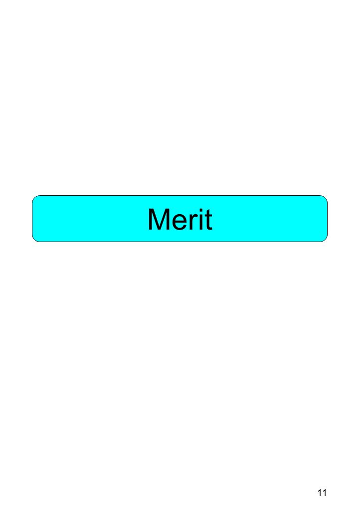 11 Merit