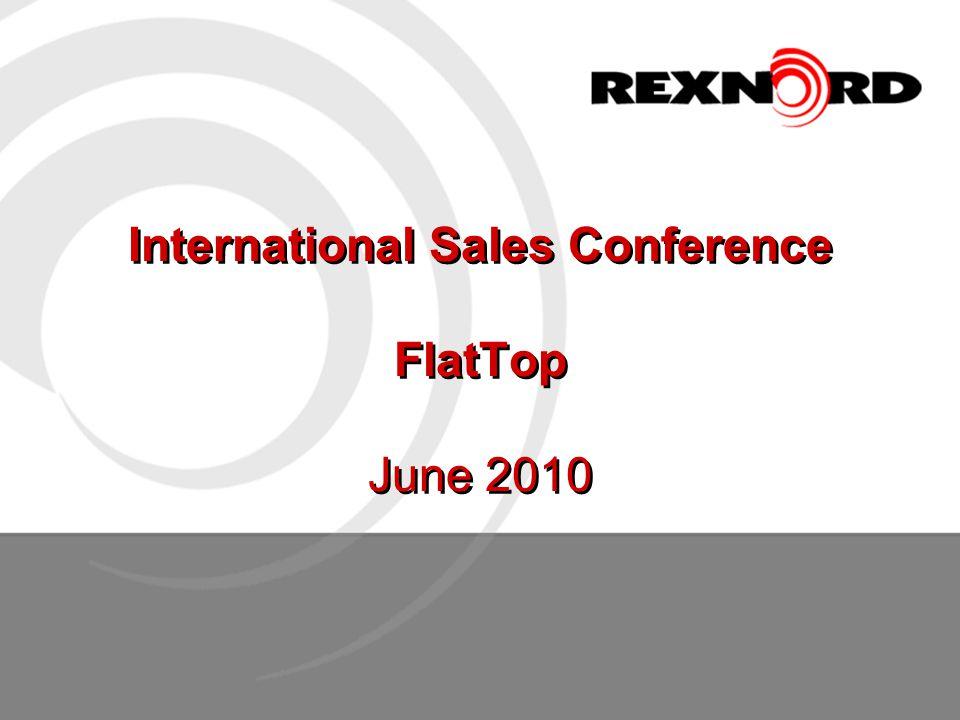 International Sales Conference FlatTop June 2010