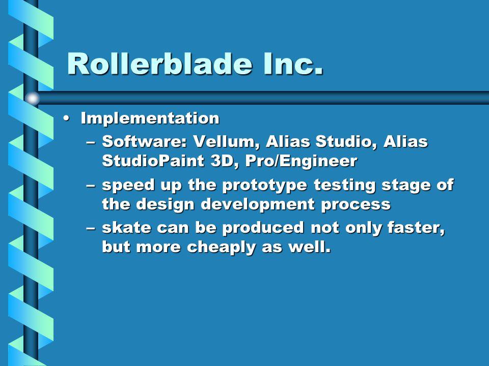 Rollerblade Inc.