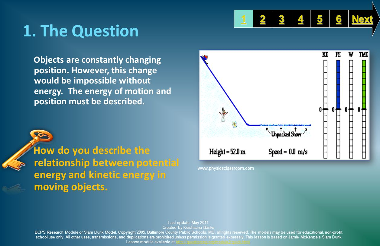 1. The Question Objects are constantly changing position.