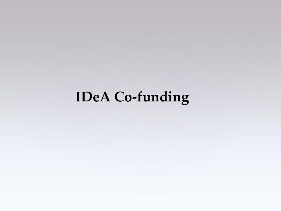 IDeA Co-funding