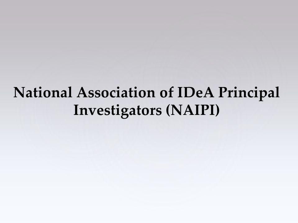National Association of IDeA Principal Investigators (NAIPI)