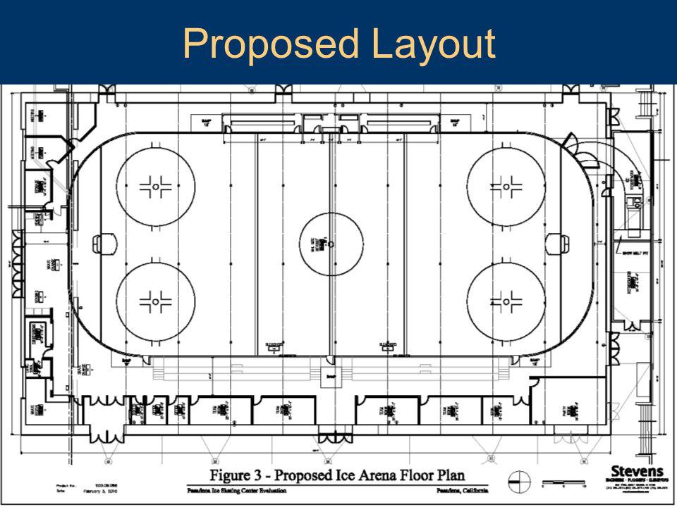 Pasadena Center Operating Company Proposed Layout