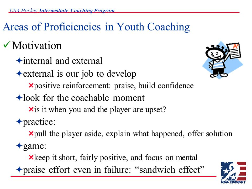 USA Hockey Intermediate Coaching Program Offensive Principles Pressure Puck Control Support Transition