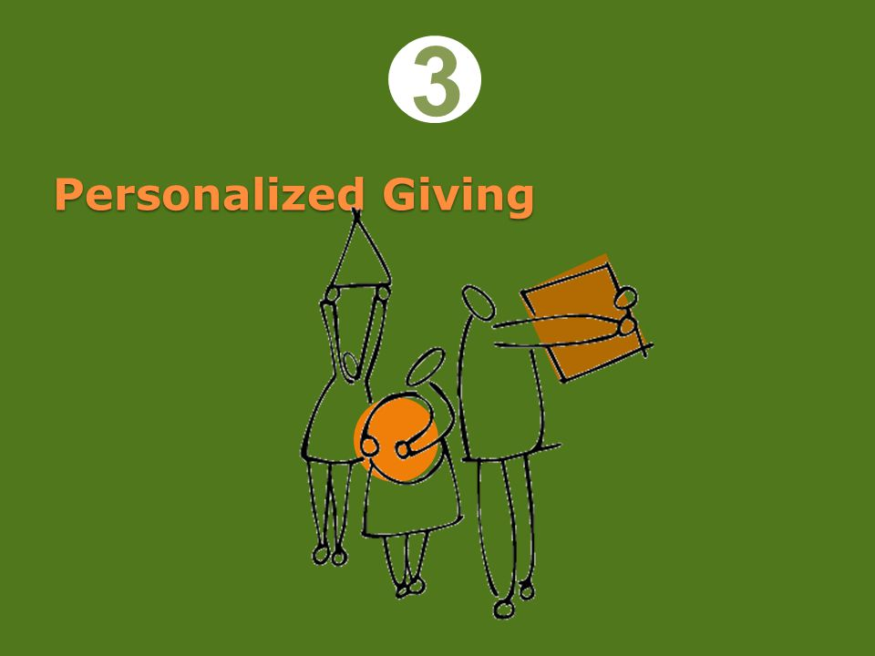 Personalized Giving 3