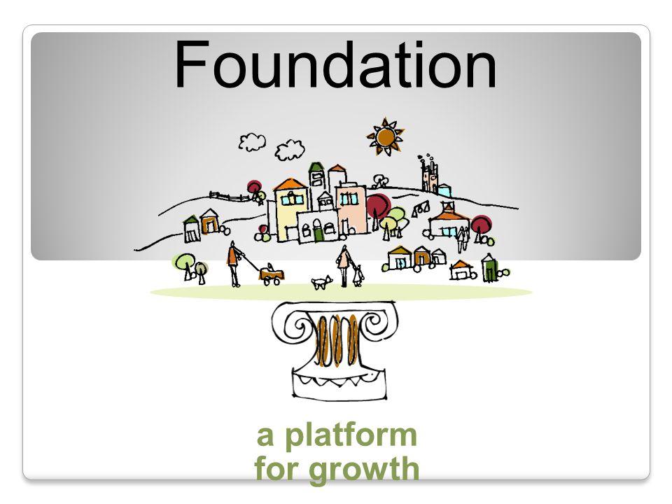 a platform for building community Community Foundation