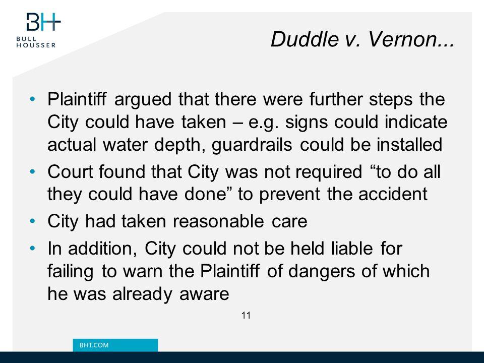 Duddle v. Vernon...