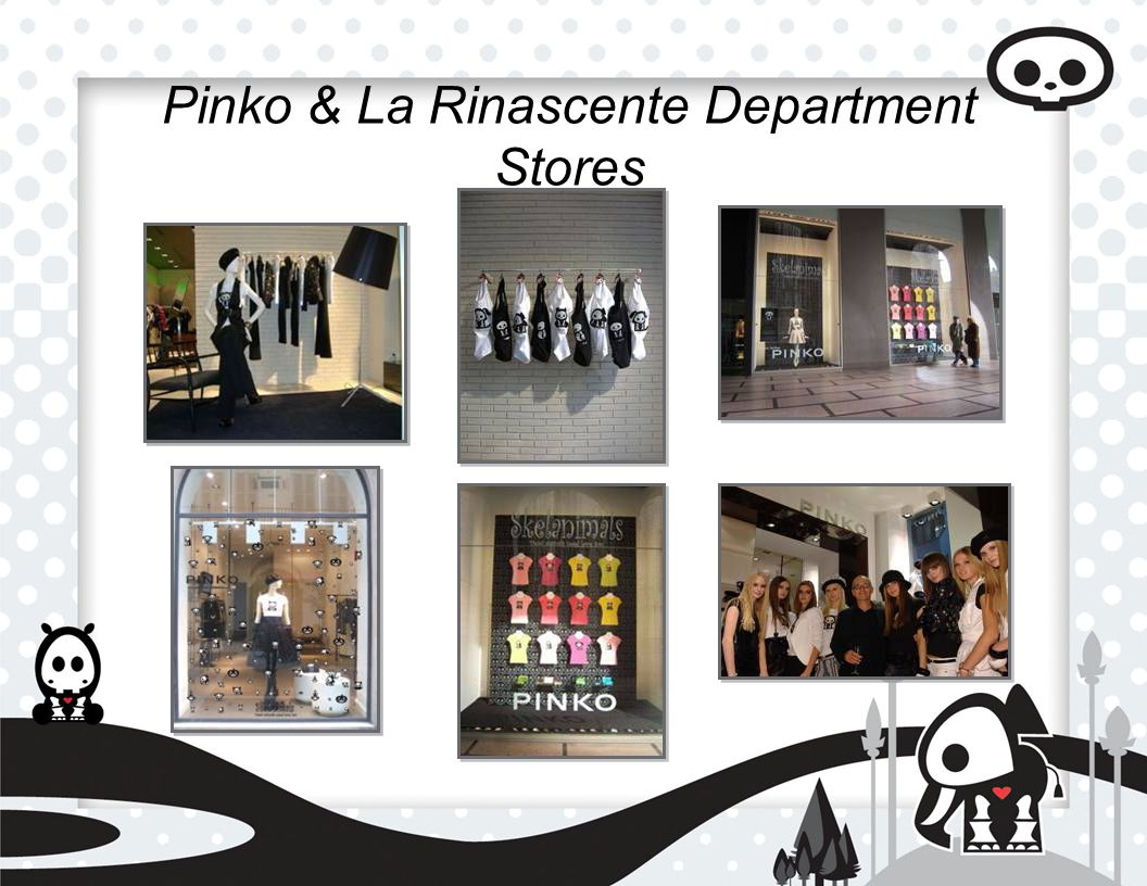 Pinko & La Rinascente Department Stores