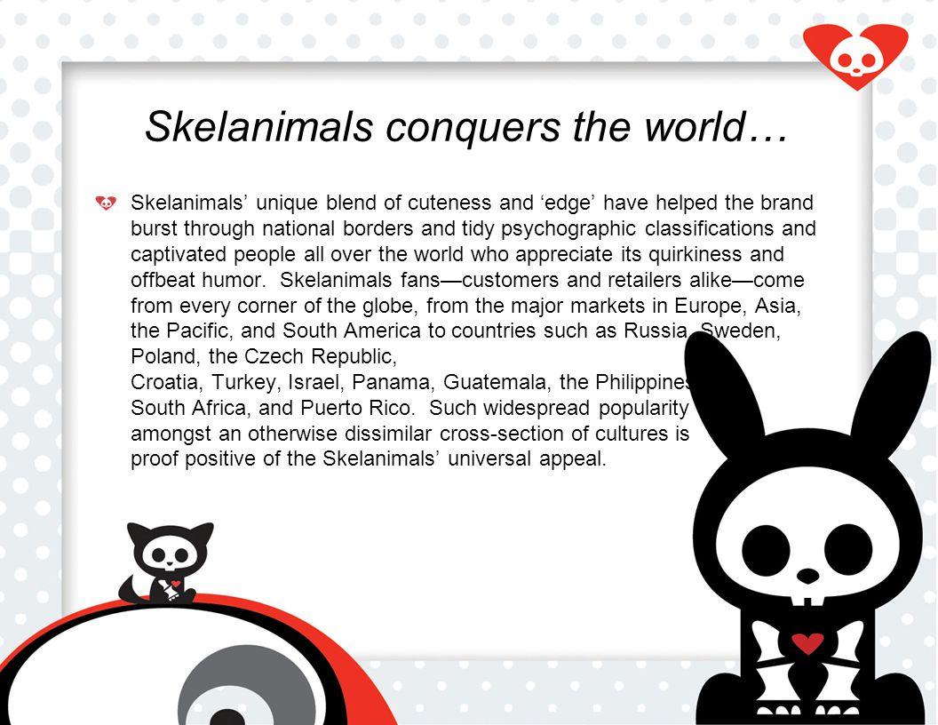 The Skelanimals' Success People ♥ animals… even dead ones.
