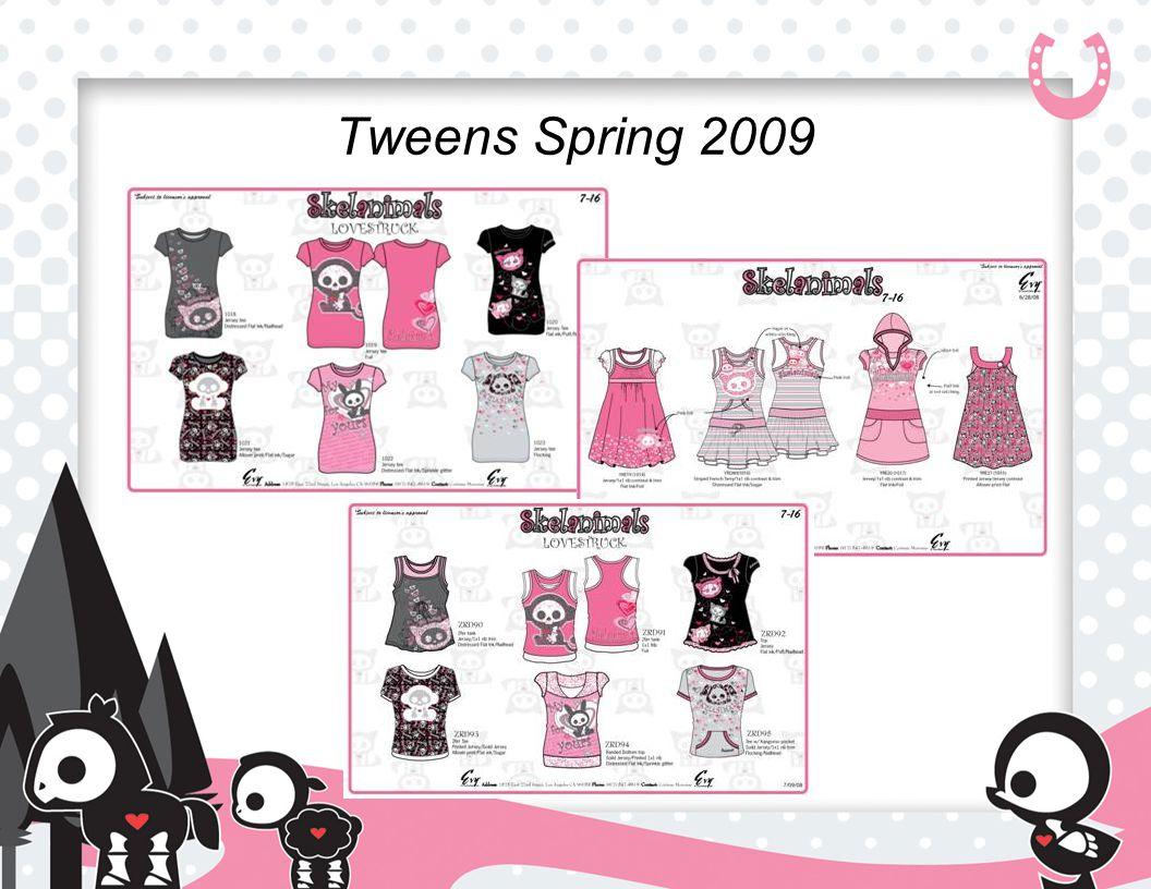 Tweens Spring 2009