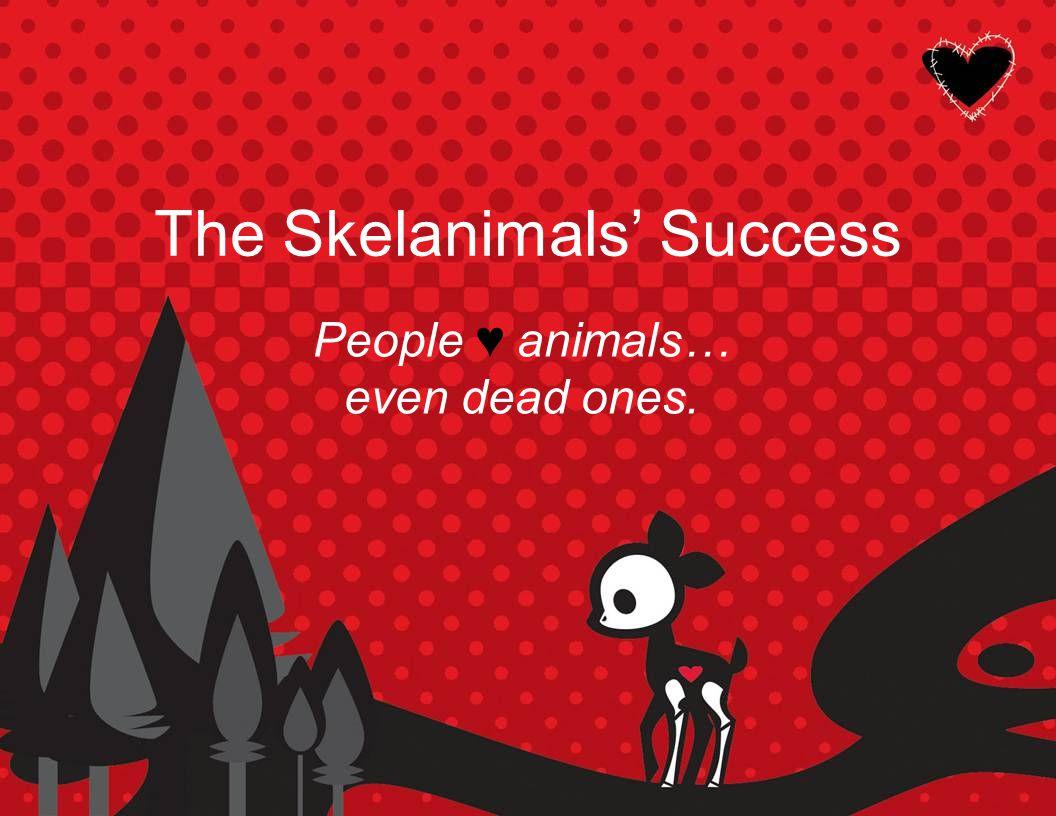 Skelanimals find love in the United States.