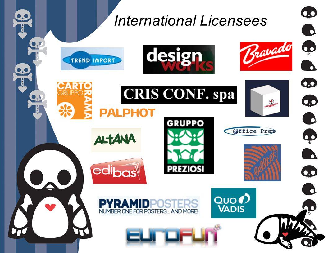International Licensees