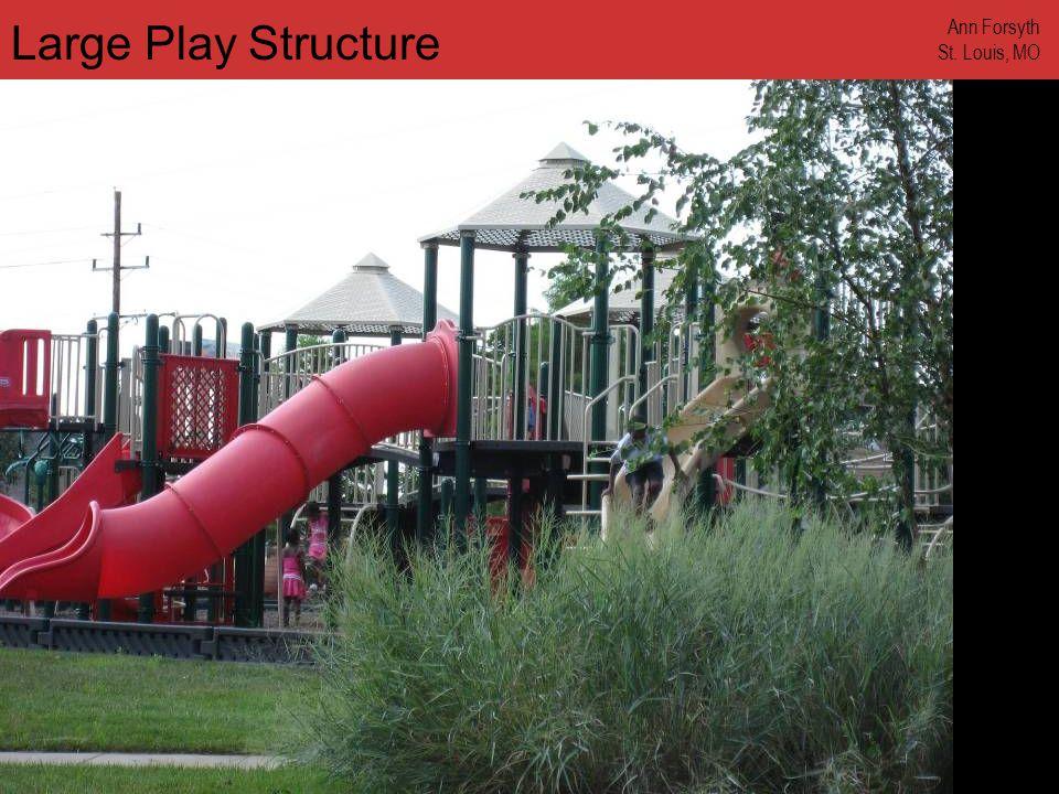 www.annforsyth.net Large Play Structure Ann Forsyth St. Louis, MO