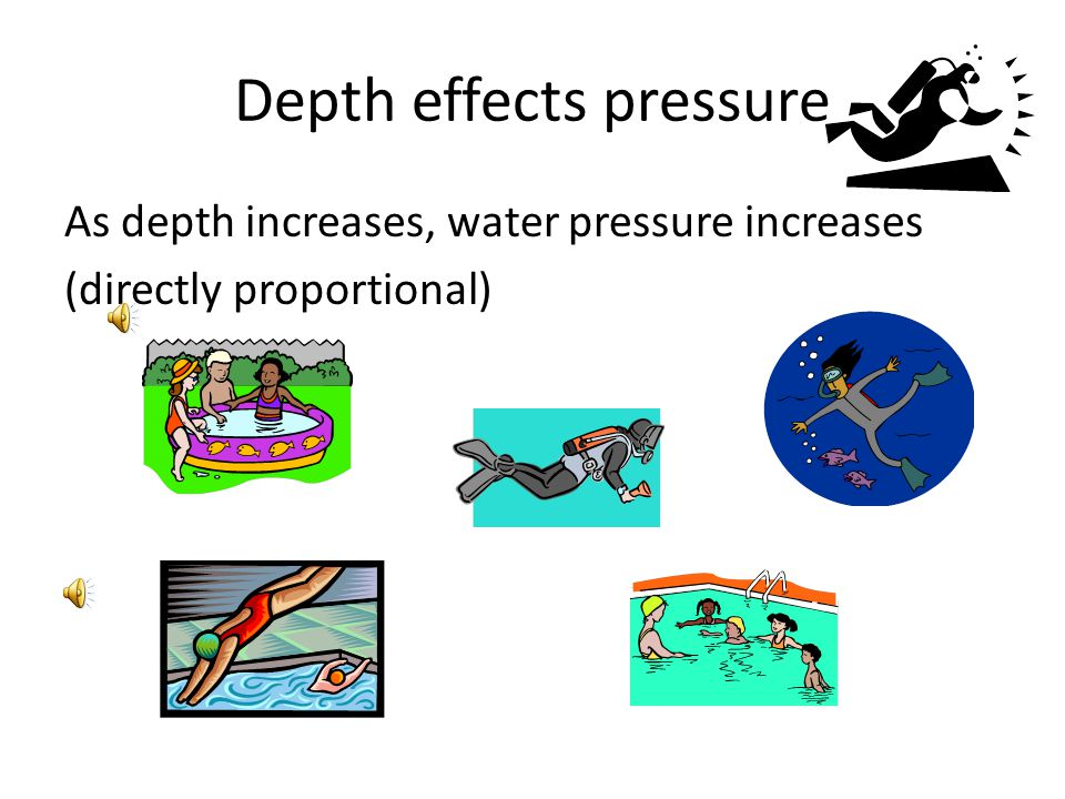 What are some characteristics of pressure in fluids?