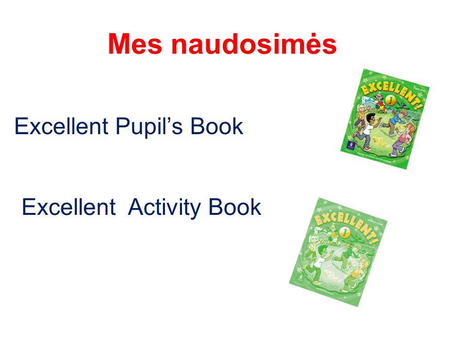 Mes naudosimės Excellent Pupil's Book Excellent Activity Book